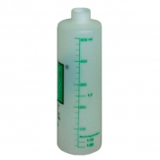 Leerflasche mit skala 0,5 L (kods 0077)